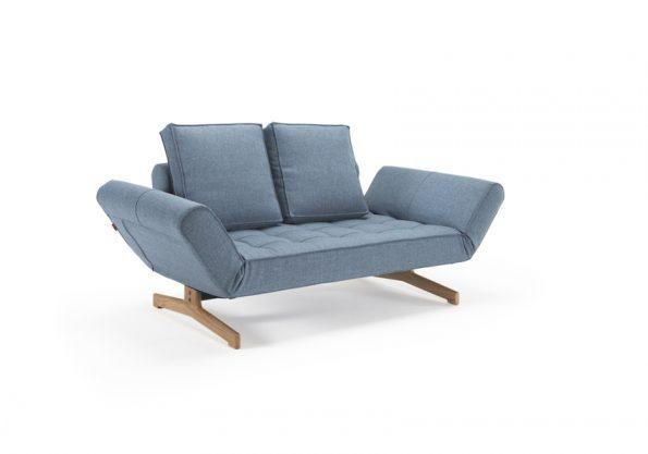 Разтегателен диван-легло Ghia Wood