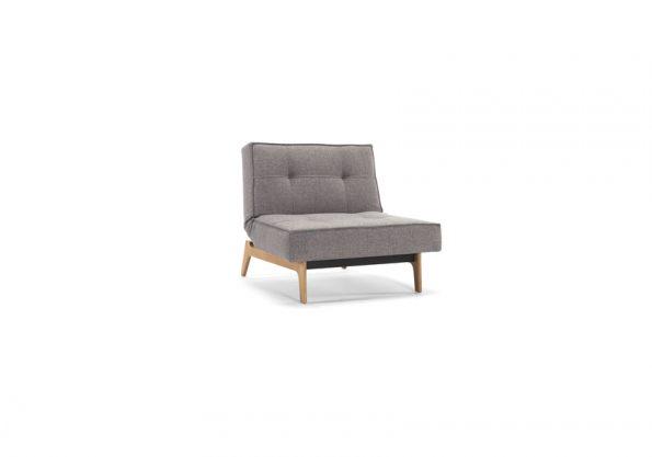 Дизайнерски фотьойл Splitback Eik