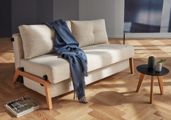 Разтегателен диван Cubed 140 Wood