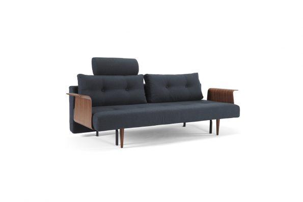 Разтегателен диван Recast с подлакътници