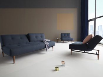 Разтегателен диван Ample Styletto Dark Wood
