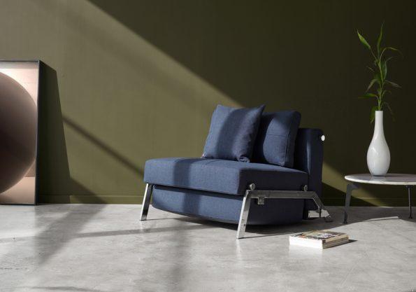 Разтегателен фотьойл Cubed 90 Chrome 528