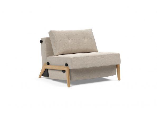 Разтегателен фотьойл Cubed-90-Wood-612