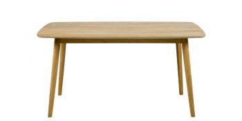 Дизайнерска маса за трапезария Nagano от масивен дъб 1