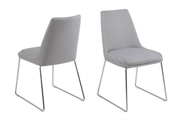 Стол за трапезария ALISON светло сив