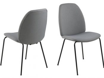 Стол за трапезария Carmen светло сив
