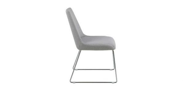 Стол за трапезария ALISON светло сив111