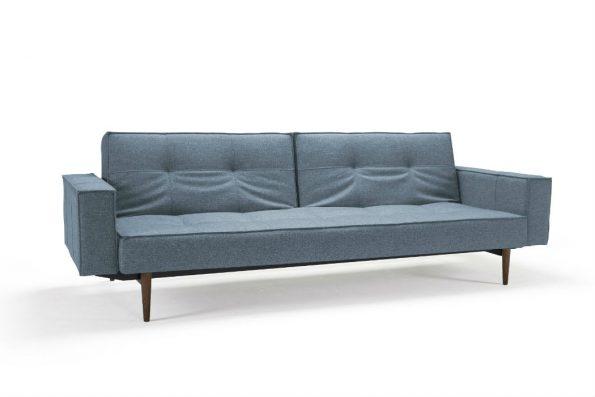 Дизайнерски разтегателен диван SPLITBACK цвят син1