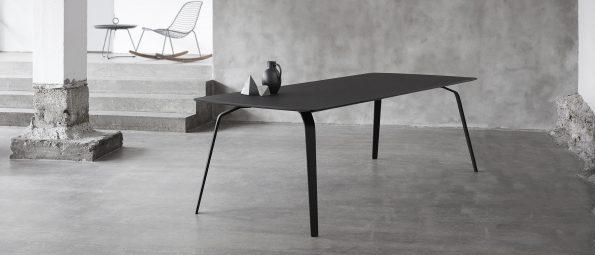дизайнерска маса за трапезария с плот от линолеум Float