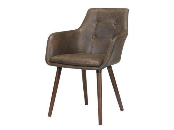Стол за трапезария Johannesburg кафяв