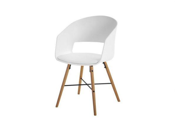 Стол за трапезария LUNA бял 1
