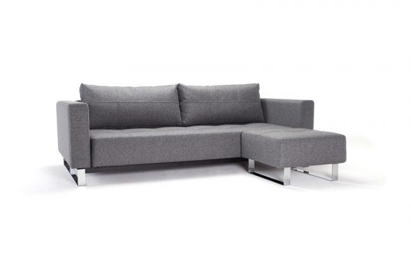 Разтегателен диван и табуретка Cassius 11