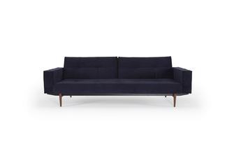 дизайнерски разтегателен диван Splitback тъмносин