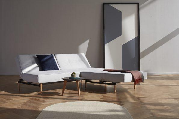 Разтегателен диван Splitback Styletto Light Wood