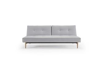 разтегателен диван Splitback цвят светлосив