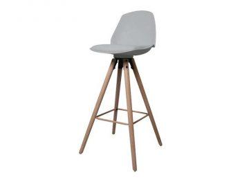 бар стол Oslo сив 1