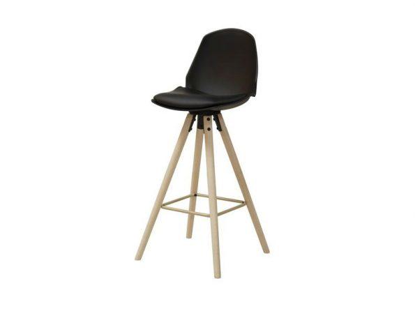 Бар стол OSLO черен