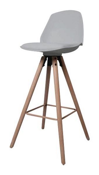 бар стол Oslo сив