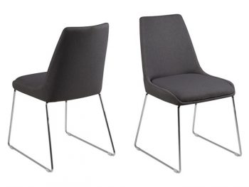 Стол за трапезария ALISON тъмно сив