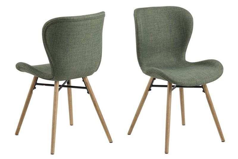 Стол за трапезария Batilda зелен