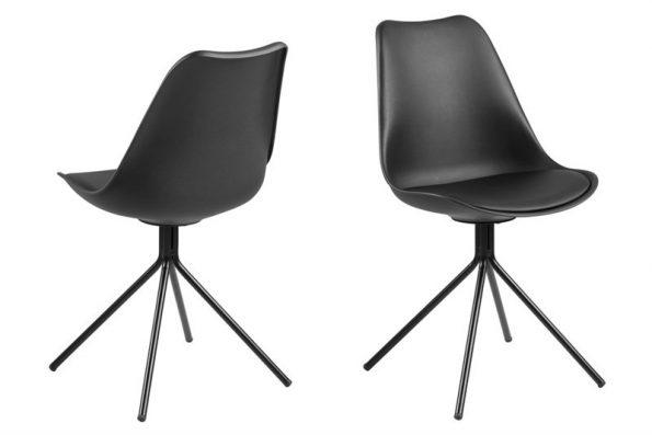 Стол за трапезария Dima черен крака черен метал