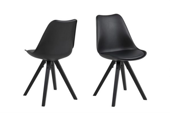 Стол за трапезария Dima черен крака черни
