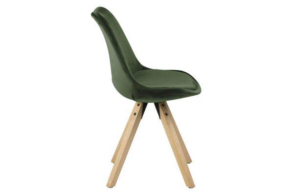 Стол за трапезария Dima горско зелен плюш 2