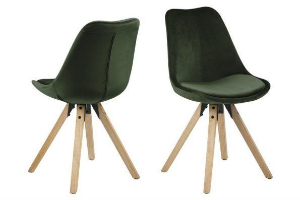 Стол за трапезария Dima горскозелен плюш