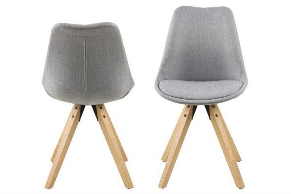 Стол за трапезария Dima светло сив 1