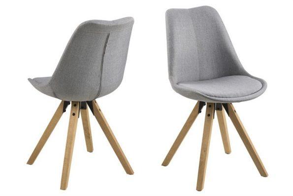 Стол за трапезария Dima светло сив
