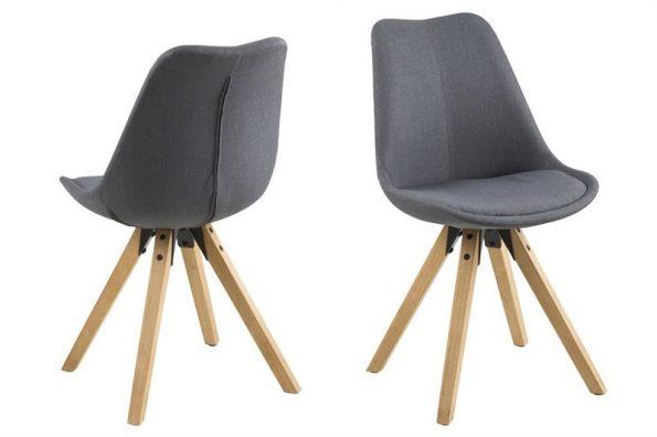 Стол за трапезария Dima тъмно сив