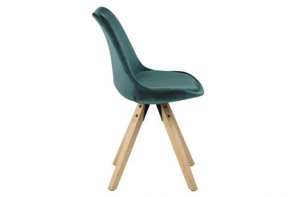 Стол за трапезария Dima зелен плюш 2