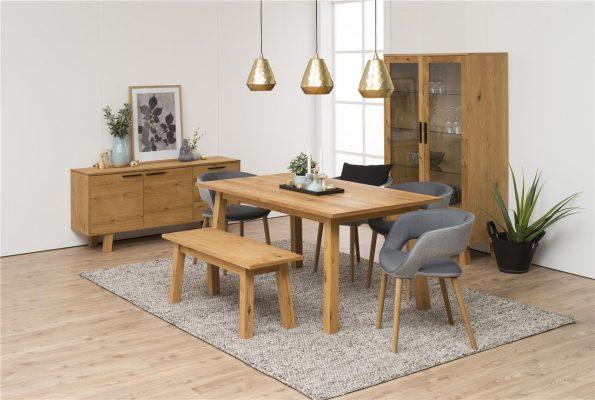 Стол за трапезария Grace oak 3