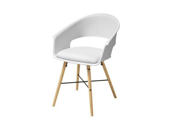 Стол за трапезария Ivar бял