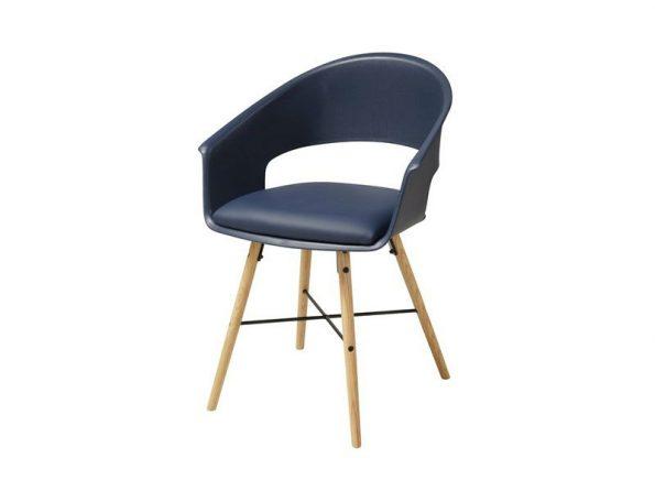 Стол за трапезария Ivar тъмно син