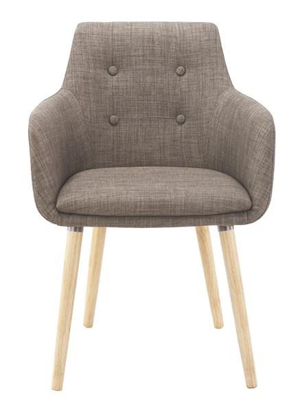 Стол за трапезария Johannesburg цвят каки 1