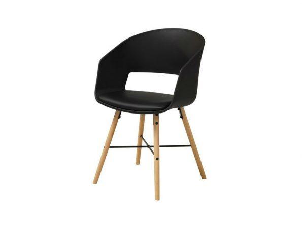 Стол за трапезария LUNA черен 1