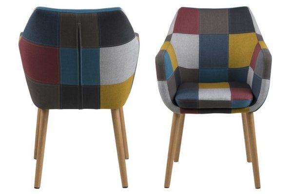 Стол за трапезария Nora patchwork 1