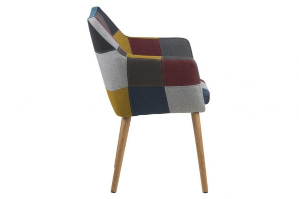 Стол за трапезария Nora patchwork 2