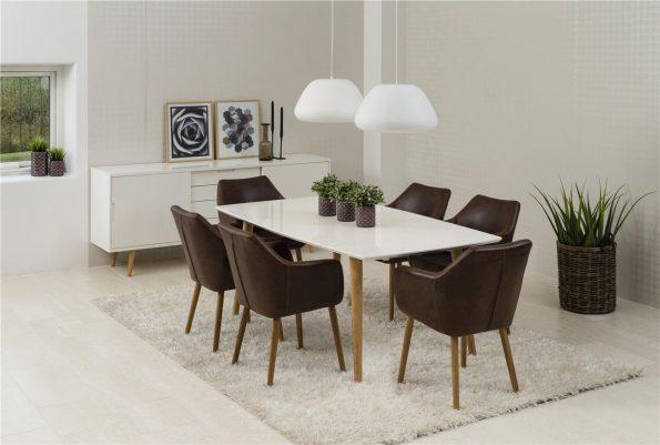 stol za trapezaria Nora tamno kafyav 11