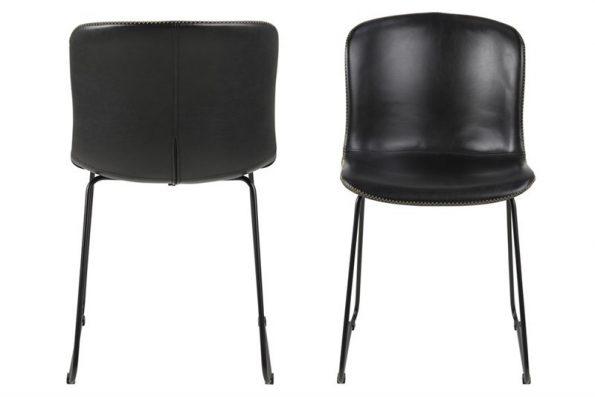 Стол за трапезария Story черен PU