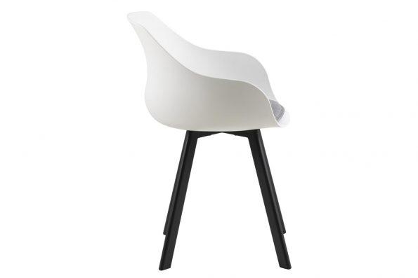 Стол за трапезария Tina бял 2