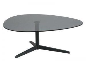 Холна маса Barnsley черна