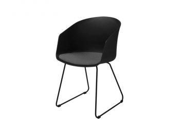 Стол за трапезария MOON 40 черен