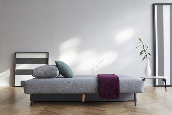 Дизайнерски разтегателен диван Osvald сив 11
