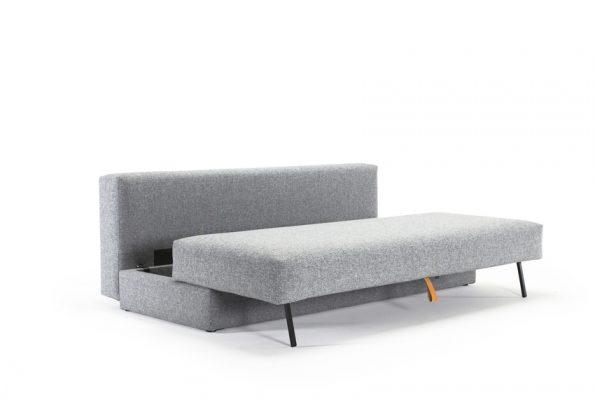 Дизайнерски разтегателен диван Osvald сив 2