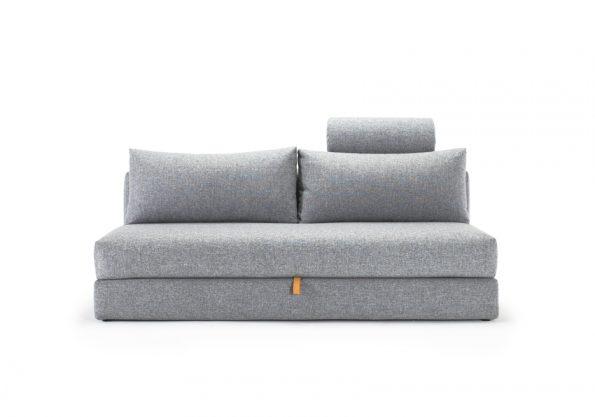 Дизайнерски разтегателен диван Osvald сив 4