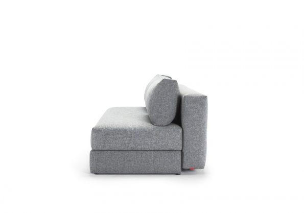 Дизайнерски разтегателен диван Osvald сив 5