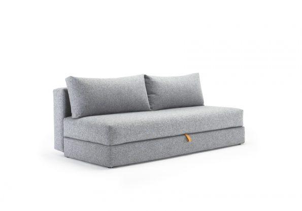 Дизайнерски разтегателен диван Osvald сив