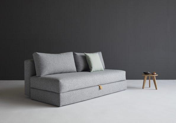 Дизайнерски разтегателен диван Osvald сив 7
